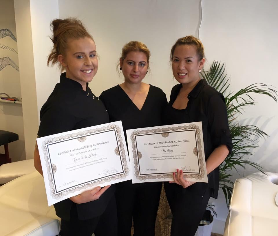 Microblading Training in Kent Resulting in Certification Of